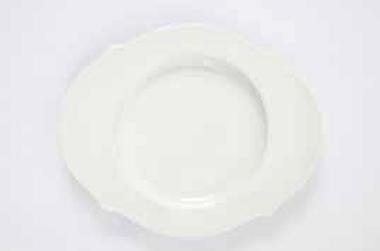 Plate round flat 20